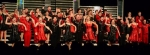 The Huntington North High School Varsity Singers completed their competition season by competing in the State Show Choir Finals March 22 in Indianapolis.
