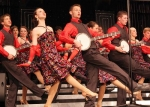 Huntington North High School's Varsity Singers perform their award-winning routine Saturday, Feb. 27, at Northridge High School. The local group was named grand champion at the show choir invitational.