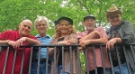Wehr Rock of Elders band members are (from left) Bob Manginelli, Al McCurdy, Karen Wehr, Mike Bartholomew and Jim Helvie. The group will play in a free concert Saturday, Aug. 20, at 6 p.m. at the outdoor stage at Hier's Park.