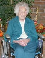 Angela Brickley turns 102 today, Thursday, Dec. 3. She took some time recently to reflect on her Christmas memories growing up.
