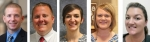 New principals for the Huntington County Community School Corporation for the 2016-17 school year include (from left) Russ Degitz, Huntington North High School; Shane Grove,Crestview Middle School assistant; Allison Holland, Lancaster Elementary School; Ashley Ransom; Ashley Ranson, Lincoln Elementary School; and Dawn Morgan, Salamonie School.