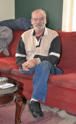 Bill Tollett sits in his Mayne Street home, waiting for the weather to clear so he can take a spin in his truck — a truck that, after an almost two-year quest, is now equipped with hand controls to accommodate Tollet's physical abilities.