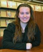 Julie Winters, president of the Huntington North High School FFA, says she wants to be the connection between big business and the farming community.