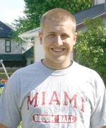 Kevin Godfroy, of Huntington, recently traveled to China as part of aa class at Miami University of Ohio.