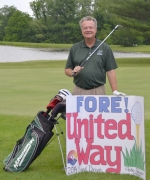 Pete Schownir, chair of the 2014 Huntington County United Way campaign, will unofficially kick off the new campaign with a marathon 81-hole golf day on June 23.