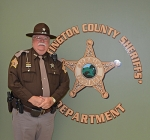 Jim Wall has been a reserve deputy for the Huntington County Sheriff's Department for 47 years. He has served under eight sheriffs, from Marion Van Pelt to Terry Stoffel.