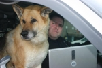 Huntington Police officer Alan Foster will retire his dog Brix on Friday, Jan. 15. Brix has worked for the Huntington Police Department since 2000, helping to protect Foster and track narcotics and missing people.