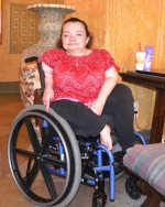 """Melissa """"Myndi"""" Greer, who wasn't expected to live through her first year, recently celebrated her 50th birthday."""