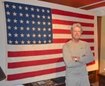 Roanoke area resident Pete Eshelman has a collection of flags, each of which flew during a major time of conflict in history. Eshelman comes from a long line of men who served in the military.