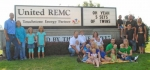 Five men who are employed at United REMC in Markle are the fathers of twins, ranging in age from 7 years to 1 year, as well as a single oldest child.