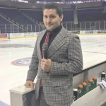 Chris Treft, formerly of Roanoke, is the team broadcaster for the Atlanta Gladiators, a minor league hockey team competing in the ECHL. Entering his third season with the team, Treft, a lifelong hockey fan, says he's working his dream job.