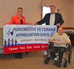 Hayden Miller (right), Huntington County's oldest World War II veteran, will serve as grand marshal for the veterans' parade in Huntington on Nov. 8.
