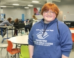 Brianna McIntyre, 16, is pictured inside the Parkview Boys & Girls Club of Huntington County, where she is not only a member but also works part time as a junior staffer. McIntyre not only won the club's 2020 Youth of the Year Award, she went on to earn distinction at the Boys & Girls Club state level, finishing in the top five of that competition.