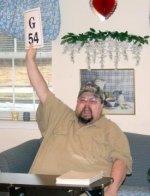 Bob Bartrom is an avid musician and has his own one-man show performance. Bartrom also call bingo for the residents at the Tipton House each week.