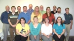 Graduates of the most recent Huntington County Leadership Academy pose for a class photo.
