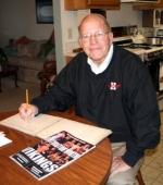 Dean Stephan has served as official scorekeeper for Huntington North High School boys' basketball since 1954. Stephan says his love for basketball, math and the fans is what keeps hime going.