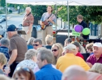 Eric Clancy Jazz entertains the crowd at JeFFFest 2009. The group will return to this year's arts event on June 20.