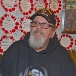 """Chuck Kuschel was injured by an exploding booby trap just 45 days into his service in Vietnam. """"I don't really talk about it that much,"""" the Purple Heart recipient says."""