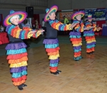 Several members of the Alley Kats dance troupe, from Fort Wayne, perform a Mexican-themed tap number at last year's Huntington County Senior Expo, at the Merillat Complex at Huntington University. The troupe will again be part of the entertainment for this year's Expo, set for Thursday, May 24.