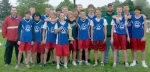 The Crestview Middle School eighth grade boys' track team claimed the county title on Tuesday, May 11.