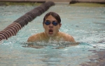 Huntington North High School swimmer Jeff Gross competes against Fort Wayne Canterbury on Tuesday, Nov. 24.