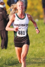 Huntington University cross country runner Emma Wilson has been named the NAIA Women's Runner of the Week for the second straight week.