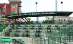 The picnic pavilion at Parkview Field, in Fort Wayne, now bears the name of Huntington University as the school continues its partnership with the TinCaps minor league baseball team.