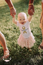 Roanoke toddler Sophia Sterling will be the recipient of the proceeds from this year's Doug Boone Memorial Golf Outing, set for Aug. 5 at Norwood Golf Course. The youngster has battled kidney cancer.