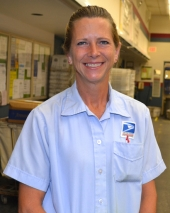 Letter carrier Kathy Neal interrupted her deliveries on July 30 to help one of the residents on her route who had fallen the previous evening and spent the night on the floor after being unable to get back to her feet.