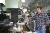 Kevin Scheiber is one of three partners at Heritage Tool and Die Inc., which began operations on the outskirts of Huntington in 1993 primarily as a plastic injection molds producer.