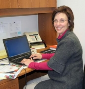 Susy Jennings is the program assistant for the Purdue Extension's Family Nutrition program, which helps low-income families develop a healthy eating plan on a tight budget.
