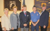 New officers for Veterans of Foreign Wars Post 2689 and its auxiliaries  were installed recently.
