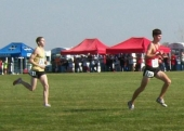 Ross Ochs competes at state.
