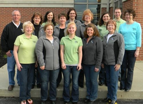 Bippus State Bank employees have raised $10,000 since 2006 in funds donated to the Huntington community by making a donation for the privilege of wearing jeans to work on Fridays.