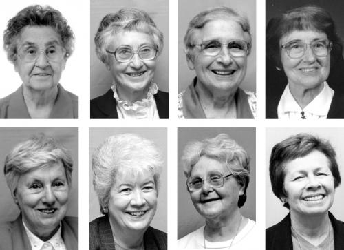 Eight members of Our Lady of Victory Missionary Sisters celebrated jubilees this year.