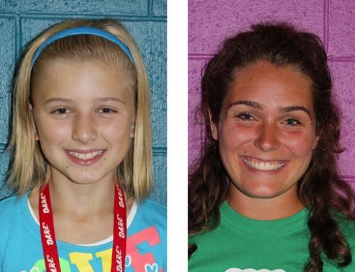 Ashlyn Snow (left) and Jenna Engelberth.