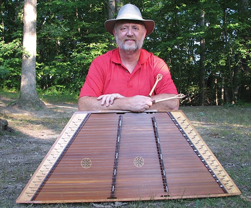 Hammer dulcimer artist Bob Hart leads off two full days of entertainment during the Forks of the Wabash Pioneer Festival on Saturday and Sunday, Sept. 23 and 24.