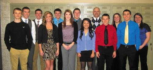 Huntington North High School DECA Club members competed in district-level competition on Jan. 19.