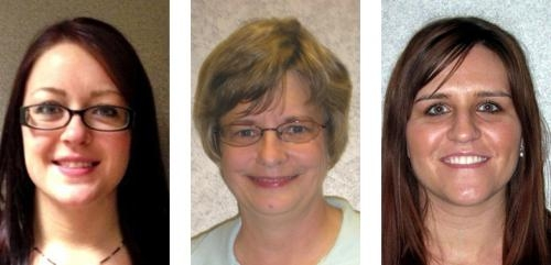 (From left) Jaime Howell, Lisa Jaynes and Sarah O'Leary.