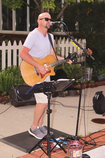 Adam Strack will be providing the entertainment for the first Friday Night Street Fair of the season in Roanoke, set for Friday, June 7, from 6 p.m. to 9 p.m. downtown.