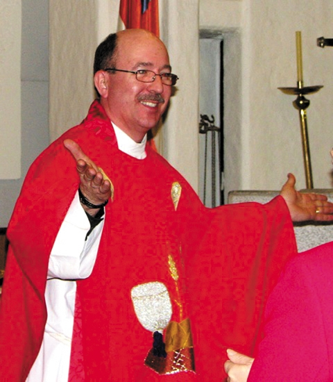 Rev. Dr. Ted J. Gaiser was recently ordained in Bogota, Columbia.