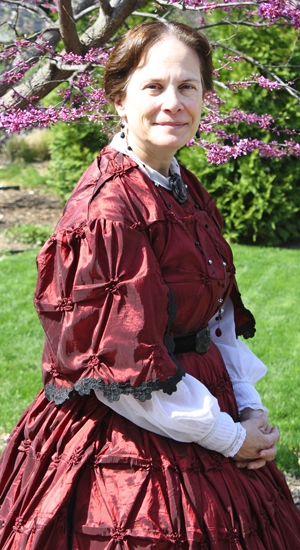 Julie DuVall will portray Mary Ann Bickerdyke, a Civil War nurse, during the March 6 meeting of the Huntington County Genealogy Society.