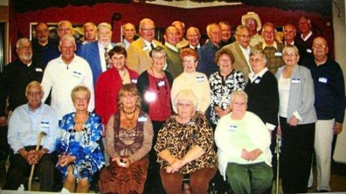 The Huntington High School Class of 1957 held its 55-year reunion on Oct. 20.