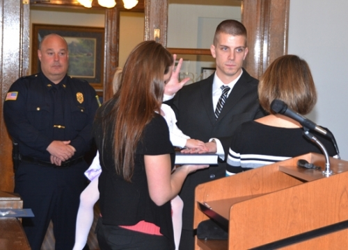 Armstrong is newest member of Huntington PD   Huntington County Tab
