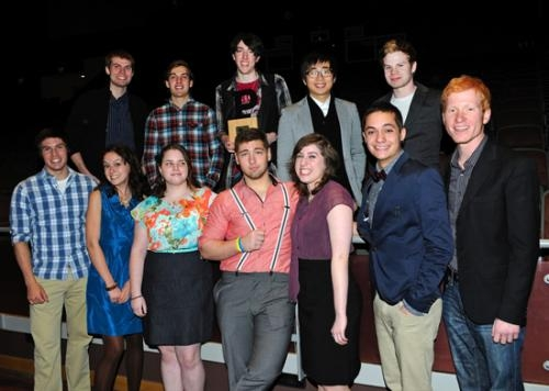 Several students from Huntington University recently won honors at the Fort Wayne ADDY Awards on Saturday, Feb. 16.