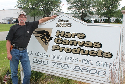 Schoeff brings his talents to Hare Canvas Products