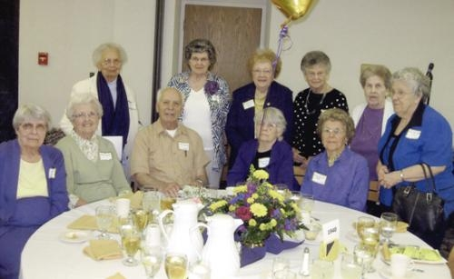 Members of the Huntington Township High School Class of 1940 were honored during the school's May alumni banquet.