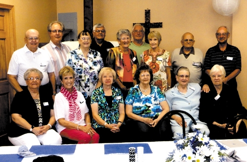 The Huntington Township High School Class of 1955 held its 58-year reunion on Aug. 24 in Huntington.
