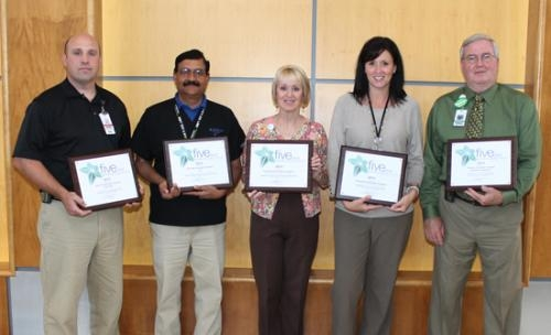 Nine departments at Parkview Huntington Hospital were recently awarded 2013 Five-Star Professional Research Consultants (PRC) Excellence in Healthcare Awards at the PRC Client Education Conference in Orlando, FL.