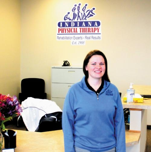 Chrissy Machielson oversees the day-to-day operation at Indiana Physical Therapy in Huntington, which opened on Jan. 7. Machielson is an honors graduate from Sacred Heart University with a doctorate in physical therapy.